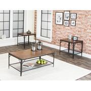 Valee-rustic Oak W/shelf 3pk Product Image