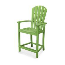 Lime Palm Coast Counter Chair