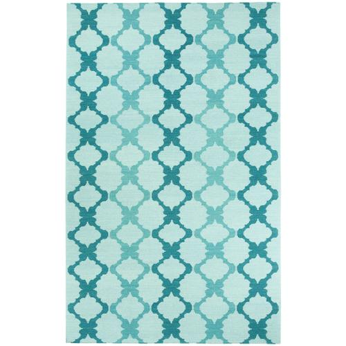 Riviera Azul Flat Woven Rugs