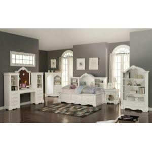 ACME Estrella Daybed w/Storage - 39150 - Twin Size - White