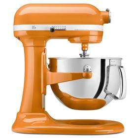 Pro 600 Series 6 Quart Bowl-Lift Stand Mixer Tangerine