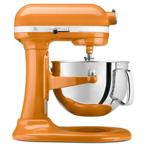 Pro 600 Series 6 Quart Bowl-Lift Stand Mixer Tangerine