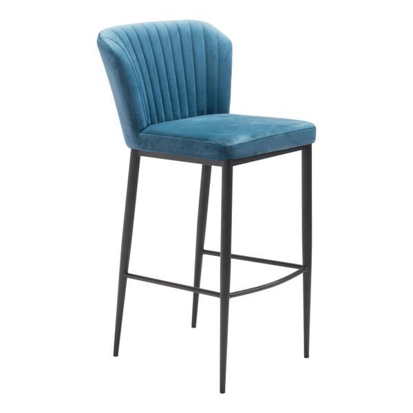 See Details - Tolivere Bar Chair Blue