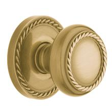 View Product - Satin Brass and Brown 5064 Estate Knob