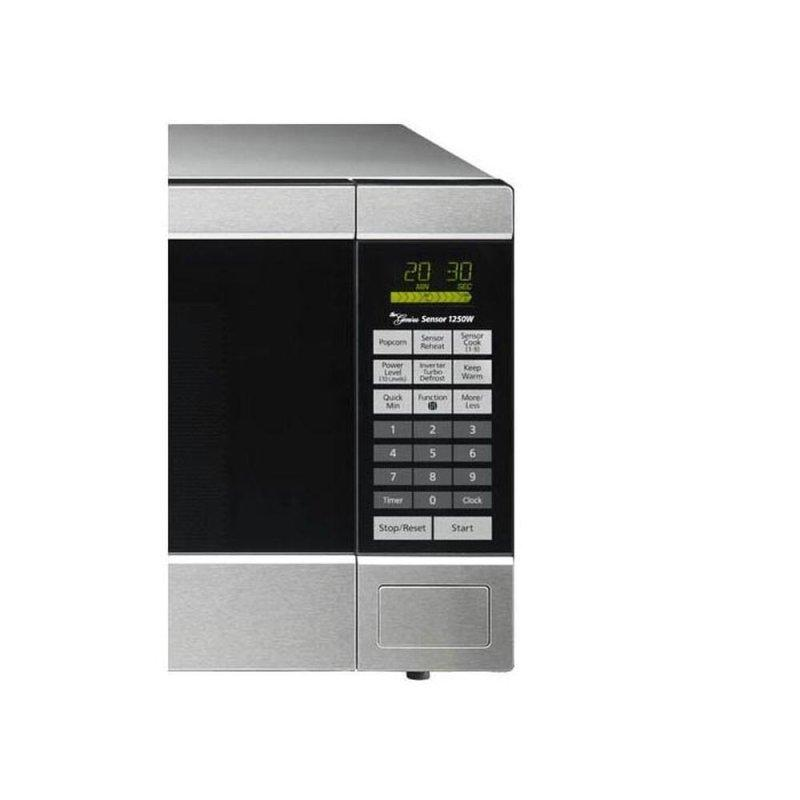 Full Size 1.6 Cu. Ft. Counter Top Microwave Oven with Inverter Technology