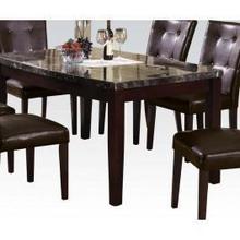 Arc Din. Table W/black Marble