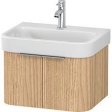 View Product - Vanity Unit Wall-mounted, European Oak (decor)