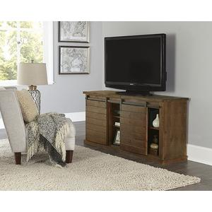 64 Inch Console - Pine - Distressed Gray, Black, Navy, Pine, Red, \u0026 White Finish