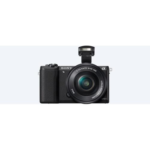 5100 E-mount camera with APS-C sensor