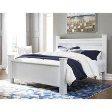 Jallory - White 3 Piece Bed (King)
