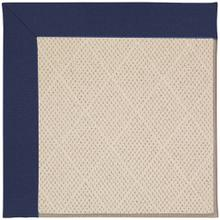 "Creative Concepts-White Wicker Canvas Royal Navy - Rectangle - 24"" x 36"""