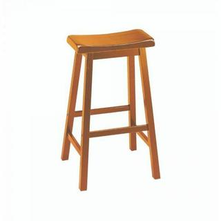 "ACME Gaucho Bar Stool (Set-2) - 07307 - Oak - 29"" Seat Height"