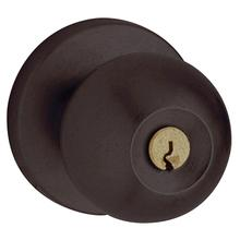 Distressed Oil-Rubbed Bronze 5215 Modern Entry Knob