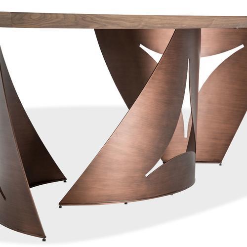 Amini - Parallel Rectangular Dining Table