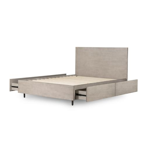 Queen Size Carly Storage Bed