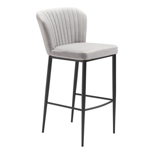 See Details - Tolivere Bar Chair Gray