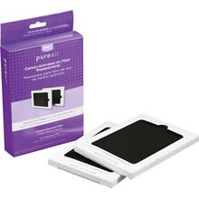See Details - Carbon-Activated Air Filter Refill Kit, 2 Pack