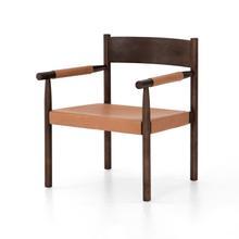 Acton Chair-chestnut Brown