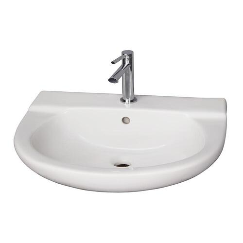 Jayden Wall-Hung Basin - Single-Hole