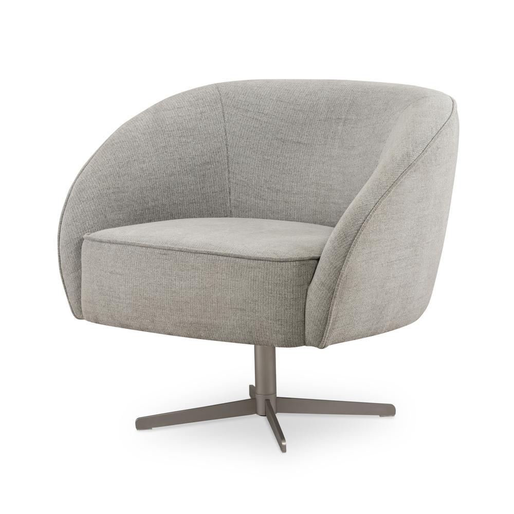 Dallas Swivel Chair-burma Pebble