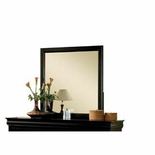 ACME Louis Philippe III Mirror - 19504 - Black
