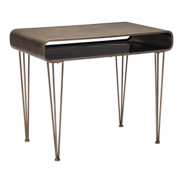 See Details - Xander Desk Antique Gold