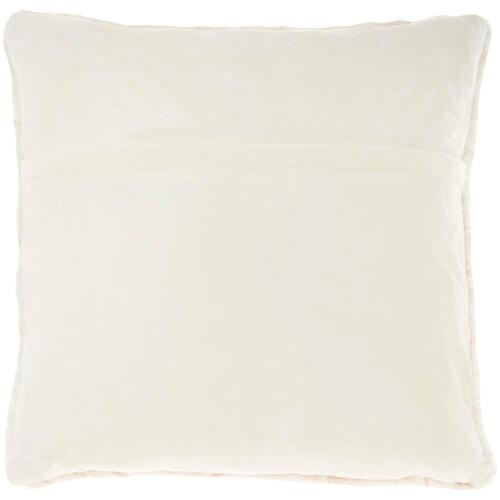 "Life Styles Bj400 Beige 20"" X 20"" Throw Pillow"