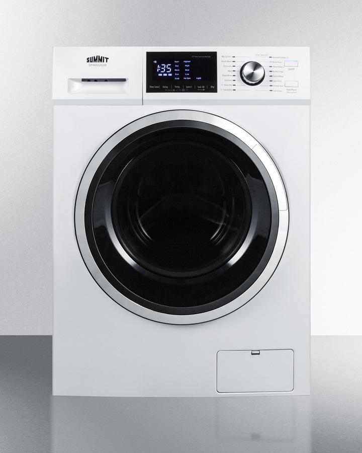 """Summit24"""" Wide 115v Washer/dryer Combo"""