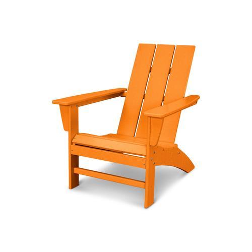 Tangerine Modern Adirondack Chair