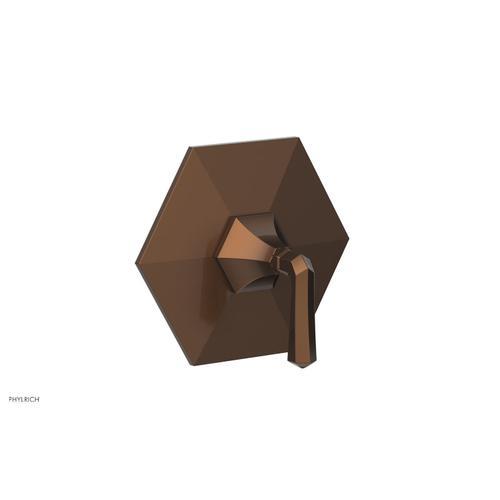 Phylrich - LE VERRE & LA CROSSE Thermostatic Shower Trim - Lever Handle TH170 - Antique Copper