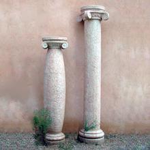 See Details - Classic Stone Columns Beige Granite / Bulge