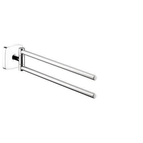 Chrome Dual Towel Bar