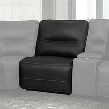 SPARTACUS - BLACK Manual Armless Recliner