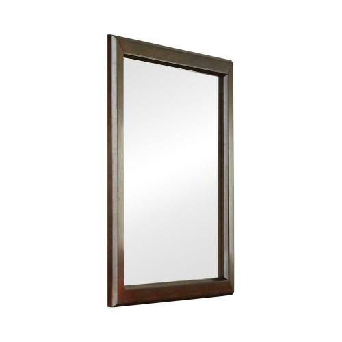 Greenough Transitional Cappuccino Mirror