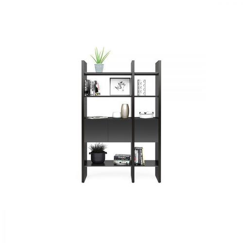 BDI Furniture - Semblance ® 5402-CB in Charcoal Stained Ash Black
