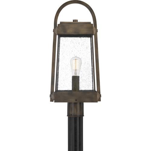 Quoizel - Ellington Outdoor Lantern in Statuary Bronze