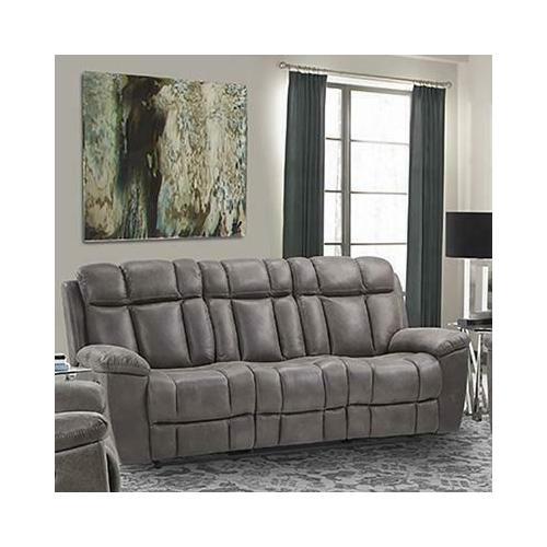 See Details - GOLIATH - ARIZONA GREY Manual Sofa