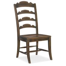 Dining Room Hill Country Twin Sisters Ladderback Side Chair - 2 per carton/price ea