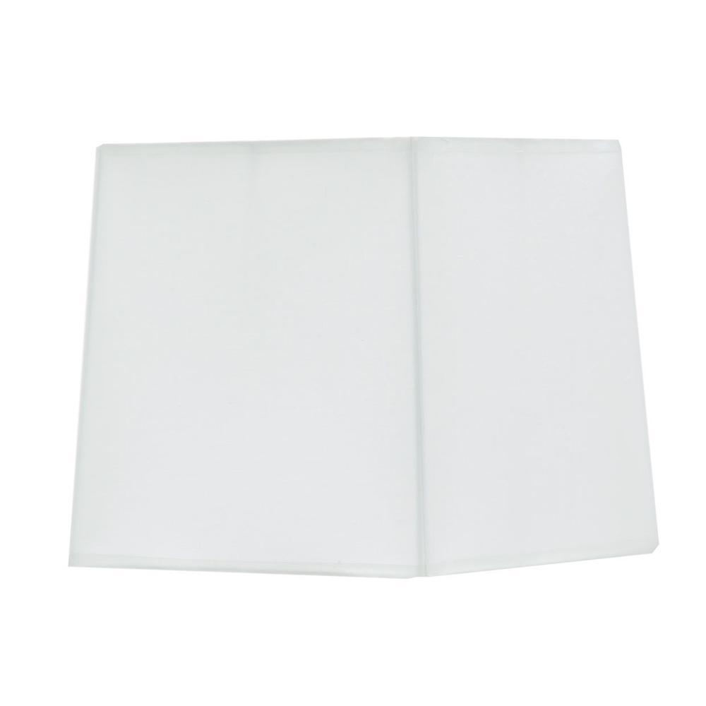 Rectangular Lamp Shade White (2/pack) 197t