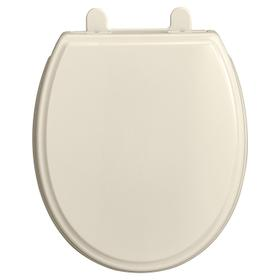 Traditional Round Front Toilet Seat  American Standard - Linen