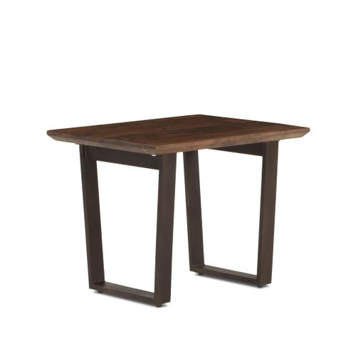 """Mozambique 28"""" Side Table Walnut"""