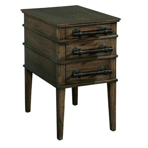 1-5105 Side Table with Bar Pulls