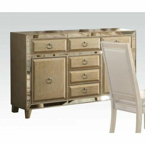 Acme Furniture Inc - ACME Voeville Server - 61004 - Antique Silver