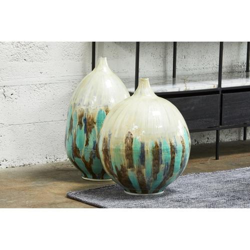 Azurite Vase Large