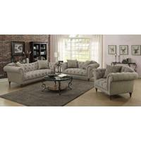 Alasdair Traditional Light Brown Loveseat Product Image