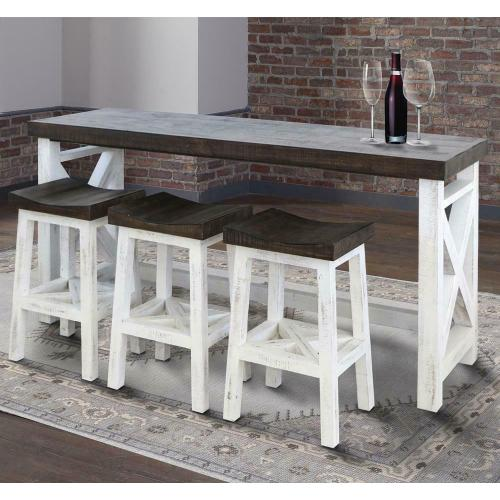 MESA Everywhere Console with 3 Stools