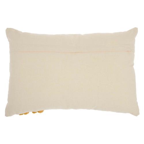 "Life Styles Rc223 Mustard 16"" X 24"" Throw Pillow"