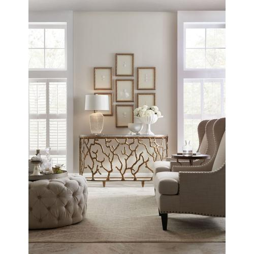 Living Room Coral Console