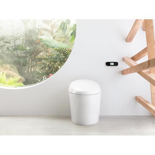 White One-piece Elongated 1.28 Gpf Intelligent Toilet