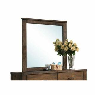 ACME Merrilee Mirror - 21684 - Oak